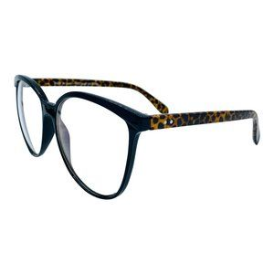 Aria | Black Leopard | Blue Light Blocking Glasses